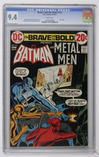 The Brave and the Bold #103 (DC, 1972) CGC NM 9.4 White pages