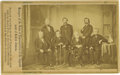 Photography:CDVs, Impeachment of Andrew Johnson - House of Representatives Managers Carte de Visite. Andrew Johnson was the first Presiden...