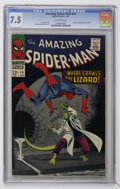 Silver Age (1956-1969):Superhero, The Amazing Spider-Man #44 (Marvel, 1967) CGC VF- 7.5 Off-white pages....