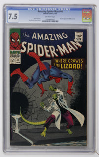 The Amazing Spider-Man #44 (Marvel, 1967) CGC VF- 7.5 Off-white pages