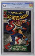 Silver Age (1956-1969):Superhero, The Amazing Spider-Man #42 (Marvel, 1966) CGC VF- 7.5 Off-white to white pages....