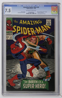 The Amazing Spider-Man #42 (Marvel, 1966) CGC VF- 7.5 Off-white to white pages