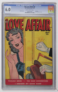 Golden Age (1938-1955):Romance, My Love Affair #6 (Fox Features Syndicate, 1950) CGC FN 6.0Slightly brittle pages....