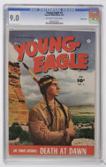 Golden Age (1938-1955):Western, Young Eagle #3 Crowley Copy pedigree (Fawcett, 1951) CGC VF/NM 9.0 Off-white to white pages....