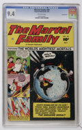 Golden Age (1938-1955):Superhero, The Marvel Family #59 Crowley Copy pedigree (Fawcett, 1951) CGC NM 9.4 Off-white pages....