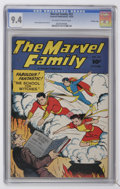 Golden Age (1938-1955):Superhero, The Marvel Family #52 Crowley Copy pedigree (Fawcett, 1950) CGC NM 9.4 Off-white to white pages....