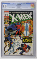 Silver Age (1956-1969):Superhero, X-Men #63 (Marvel, 1969) CGC VF+ 8.5 Off-white pages....