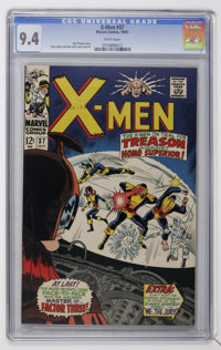 X-Men #37 (Marvel, 1967) CGC NM 9.4 White pages