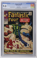 Silver Age (1956-1969):Superhero, Fantastic Four #61 (Marvel, 1967) CGC VF/NM 9.0 Off-white pages....