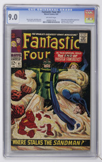 Fantastic Four #61 (Marvel, 1967) CGC VF/NM 9.0 Off-white pages
