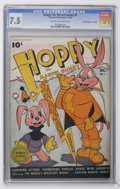 "Golden Age (1938-1955):Funny Animal, Hoppy the Marvel Bunny #1 Davis Crippen (""D"" Copy) pedigree(Fawcett, 1945) CGC VF- 7.5 Cream to off-white pages...."