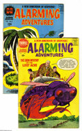 Silver Age (1956-1969):Horror, Alarming Adventures #1 and 3 Group (Harvey, 1962-63) Condition:Average VG/FN. Lot includes #1 (John Severin cover, Bernard ... (2Comic Books)