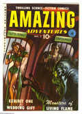 Golden Age (1938-1955):Science Fiction, Amazing Adventures #2 (Ziff-Davis, 1951) Condition: FN/VF. Alex Schomburg cover. Schomburg, Murphy Anderson, and Ogden Whitn...