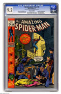 Bronze Age (1970-1979):Superhero, The Amazing Spider-Man #96 (Marvel, 1971) CGC NM- 9.2 Off-white pages. Drug story not approved by the Comics Code Authority....