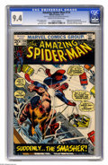 Bronze Age (1970-1979):Superhero, The Amazing Spider-Man #116 (Marvel, 1973) CGC NM 9.4 Cream to off-white pages. Adapts story from Spectacular Spider-Man...