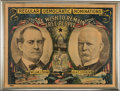 Political:Posters & Broadsides (1896-present), Bryan & Stevenson: Perhaps the Best Jugate Poster Designed forthis 1900 Democratic Ticket. ...
