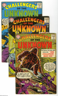Silver Age (1956-1969):Adventure, Challengers of the Unknown Silver Age Group (DC, 1963-68) Condition: VG/FN. Includes issues #32, 36, 37, 46, 53, 59, 63, and... (8 Comic Books)