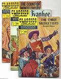 Silver Age (1956-1969):Classics Illustrated, Classics Illustrated Group (Gilberton) Condition: Average VG/FN.Full short box filled with later reprint issues of Classi...