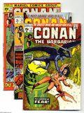Bronze Age (1970-1979):Miscellaneous, Conan the Barbarian #9-14 Group (Marvel, 1971-72) Condition:Average FN. Six-issue lot includes #9, 10, 11, 12, 13, and 14 (...(6 Comic Books)