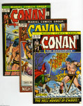 Bronze Age (1970-1979):Miscellaneous, Conan the Barbarian Group (Marvel, 1972-79) Condition: Average VF-.Forty three-issue lot includes #15 (Elric appearance), 1... (43Comic Books)