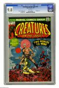 Bronze Age (1970-1979):Horror, Creatures on the Loose #21 (Marvel, 1973) CGC NM/MT 9.8 Whitepages. Gullivar Jones, Warrior of Mars is featured. Jim Steran...
