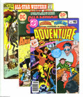 Bronze Age (1970-1979):Miscellaneous, DC Bronze Group (DC, 1971-80) Condition: Average VF. Twentytwo-issue lot includes Adventure Comics #467 (two copies); ... (22Comic Books)