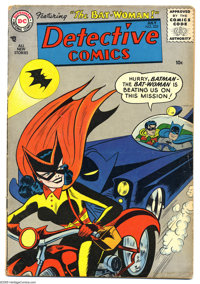 Detective Comics #233 (DC, 1956) Condition: VG-. Origin and first appearance of Batwoman (Kathy Kane). Overstreet 2005 V...