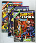Bronze Age (1970-1979):Horror, Giant-Size Dracula #2-5 Group (Marvel, 1974-75) Condition: AverageVF/NM. Five-issue lot includes Giant-Size Dracula #2,... (5 ComicBooks)