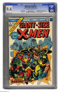 Giant-Size X-Men #1 (Marvel, 1975) CGC NM 9.4 Off-white to white pages. First appearance of the new X-Men team. First ap...