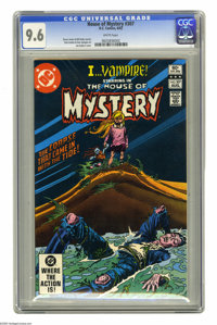 House of Mystery #307 (DC, 1982) CGC NM+ 9.6 White pages. Joe Kubert cover. Tom Sutton and Dan Spiegle art. Overstreet 2...