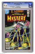 "Modern Age (1980-Present):Horror, House of Mystery #308 (DC, 1982) CGC NM+ 9.6 Off-white to whitepages. ""I...Vampire"" story. Joe Kubert cover. Tom Sutton and..."