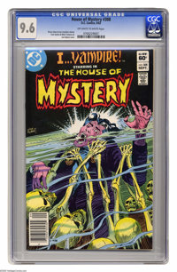 """House of Mystery #308 (DC, 1982) CGC NM+ 9.6 Off-white to white pages. """"I...Vampire"""" story. Joe Kubert cover..."""