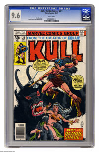 Kull the Destroyer #23 (Marvel, 1977) CGC NM+ 9.6 White pages. Ernie Chan and Yong Montano art. Overstreet 2005 NM- 9.2...
