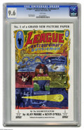 Modern Age (1980-Present):Miscellaneous, League of Extraordinary Gentlemen #1 (America's Best Comics, 1999) CGC NM+ 9.6 White pages. Overstreet 2004 NM- 9.2 value = ...