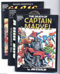 Modern Age (1980-Present):Miscellaneous, Marvel Miscellaneous Graphic Novels and Magazines Group (Marvel, 1981-97) Condition: Average VF. Half full short box lot inc... (36 Comic Books)