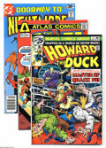 Bronze Age (1970-1979):Miscellaneous, Miscellaneous Bronze Age Group (Various, 1971-78) Condition:Average NM-. Twelve-issue lot includes Howard the Duck #2 a... (12Comic Books)