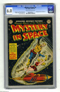 Golden Age (1938-1955):Science Fiction, Mystery in Space #5 (DC, 1952) CGC FN 6.0 Cream to off-white pages.Carmine Infantino cover with Infantino and Gil Kane art....