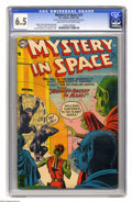 Golden Age (1938-1955):Science Fiction, Mystery in Space #23 (DC, 1955) CGC FN+ 6.5 Light tan to off-whitepages. Murphy Anderson cover. Gil Kane, Carmine Infantino...
