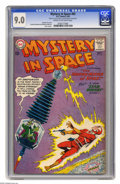 Silver Age (1956-1969):Science Fiction, Mystery in Space #83 (DC, 1963) CGC VF/NM 9.0 Cream to off-white pages. Carmine Infantino and Murphy Anderson cover and art....