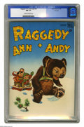 Golden Age (1938-1955):Horror, Raggedy Ann and Andy #20 File Copy (Dell, 1948) CGC NM 9.4 Cream tooff-white pages. This is currently the highest grade awa...