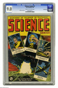 Golden Age (1938-1955):Science Fiction, Science Comics #1 Crowley Copy pedigree (Humor Publications, 1946)CGC VF/NM 9.0 Cream to off-white pages. Atom Bomb cover. ...