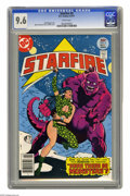 Bronze Age (1970-1979):Science Fiction, Starfire #5 (DC, 1977) CGC NM+ 9.6 White pages. Mike Vosburg andVince Colletta cover. Overstreet 2005 NM- 9.2 value = $7. C...