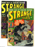 Golden Age (1938-1955):Horror, Strange Tales #3 and 6 Group (Marvel, 1951-52). Lot includes #3(atom bomb panels; FR) and 6 (GD). Featured artists include ... (2Comic Books)