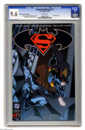 Modern Age (1980-Present):Superhero, Superman/Batman 1 Retailer Incentive Edition (DC, 2003) CGC NM+ 9.6White pages. Promotional issue. Ed McGuinness cover and ...
