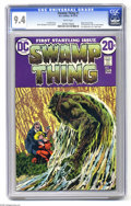 Bronze Age (1970-1979):Horror, Swamp Thing #1 (DC, 1972) CGC NM 9.4 White pages. Bernie Wrightsoncover and art. First telling of revised origin. Overstree...