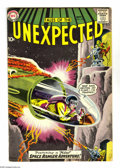Silver Age (1956-1969):Science Fiction, Tales of the Unexpected #43 (DC, 1959) Condition: VG. First Space Ranger cover in this title. Grey tone cover art by Bob Bro...