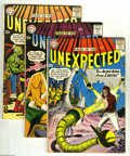Silver Age (1956-1969):Horror, Tales of the Unexpected #37, 38, and 44 Group (DC, 1959). Thisgroup consists of three comics: #37 (VG+); 38 (GD); and 44 (V... (3Comic Books)