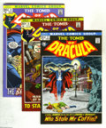 Bronze Age (1970-1979):Horror, Tomb of Dracula #2-9 Group (Marvel, 1972-73) Condition: AverageVF/NM. Eight-issue lot includes #2, 3 (intro of Rachel Van H... (8Comic Books)