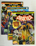 Bronze Age (1970-1979):Horror, Tomb of Dracula Group (Marvel, 1973-79) Condition: Average VF/NM.Eighteen-issue lot includes #14, 19, 22, 26, 27, 29, 32, 3... (18Comic Books)