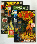 Silver Age (1956-1969):Horror, Tower of Shadows Group (Marvel, 1970) Condition: Average VF/NM.Four issue lot includes Tower of Shadows #4 (Marie Sever... (4Comic Books)